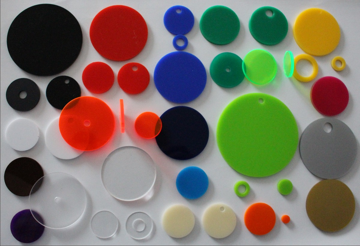 plastic discs colours
